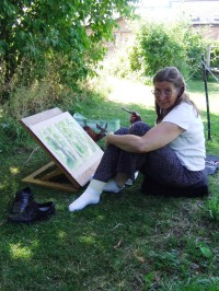 Nature in Art as artist is residence and honorary member Valerie Briggs