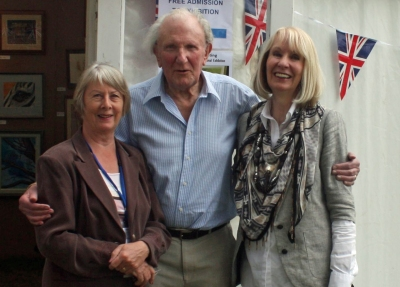 David Shepherd with Pollyanna Pickering
