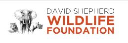 David Shepherd Wildlife Foundation Logo Website Link