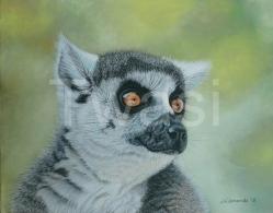 Jacqueline Edmonds - 'Lemur' edmondsart@outlook.com http://www.jacquelineedmondsart.co.uk/