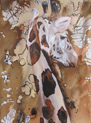 'Abstract Giraffe' by Julie Cross julie.cross@dial.pipex.com http://juliecross.theartistsweb.co.uk/
