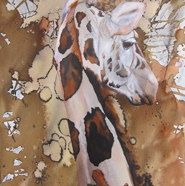 'Abstract Giraffe' by Julie Cross julie.cross@dial.pipex.com http://juliecross.theartistsweb.co.uk/