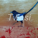 'One for Sorrow' Denise Coble denisecoble99@yahoo.co.uk https://www.denisecobleart.com/