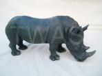 'Black Rhino' by Juliet Collins jcjuliet@googlemail.com https://www.isleofwightarts.com/artists/julietcollins/gallery https://www.facebook.com/JulietCollinsAnimalSculptures