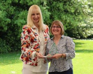 Denise Coble - Winner of the Christopher Parsons Award 2018