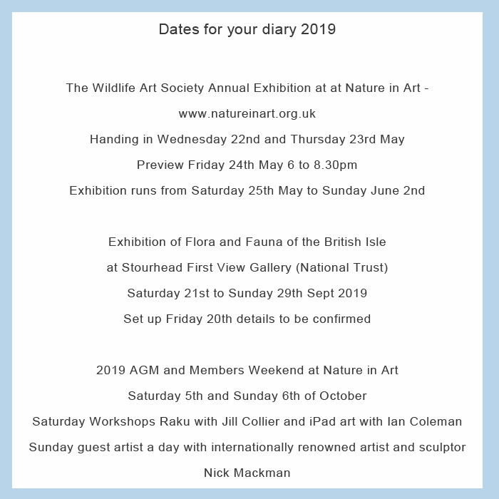 TWASI Dates 2019