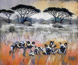 Leslely Connolly African Landscape Pollyanna Pickering Award