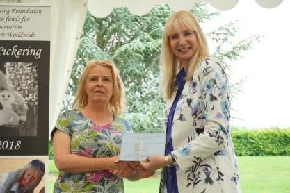Lesley Connolly The Pollyanna Pickering Award