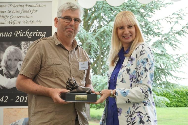 Nick Barker The Simon Combes Award