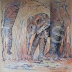 'Elephant' by Sue Cartwright sue@suecartwright.co.uk www.suecartwright.co.uk