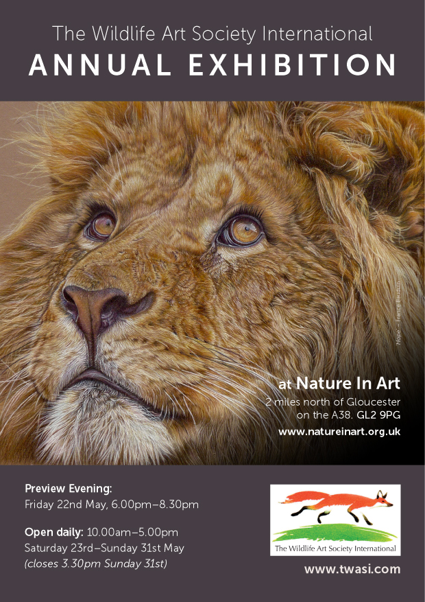 The Wildlife Art Society International TWASI Annual Exhibition 2020 at Nature in Art Gloucester