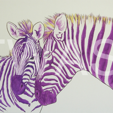 'Dazzle Two' by Stephen Hand Acrylic with glitter Unframed 92 x 60 £450