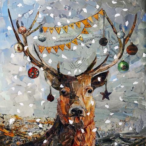 Lesley Connolly Fun Christmas Artwork for TWASI