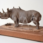 Black Rhino by Neal Griffin
