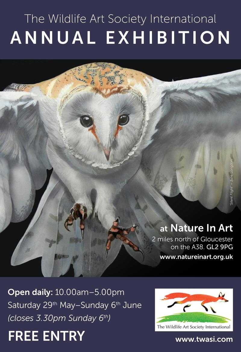 The Wildlife Art Society International Online Gallery 2020 - 2021