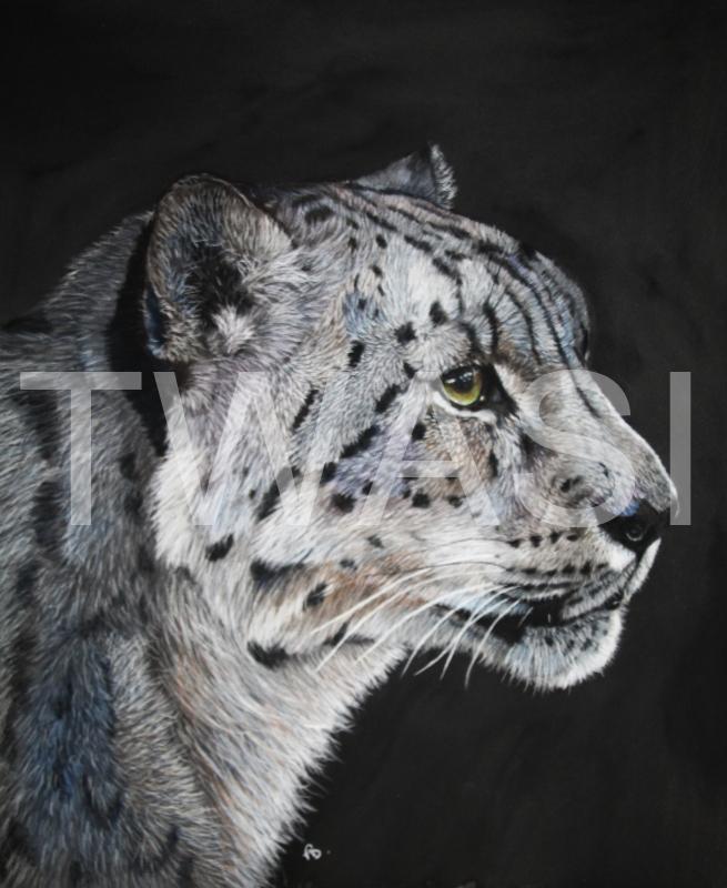 'Serenity' by Frances Daunt Pastels Framed 41 x 48 cms £400
